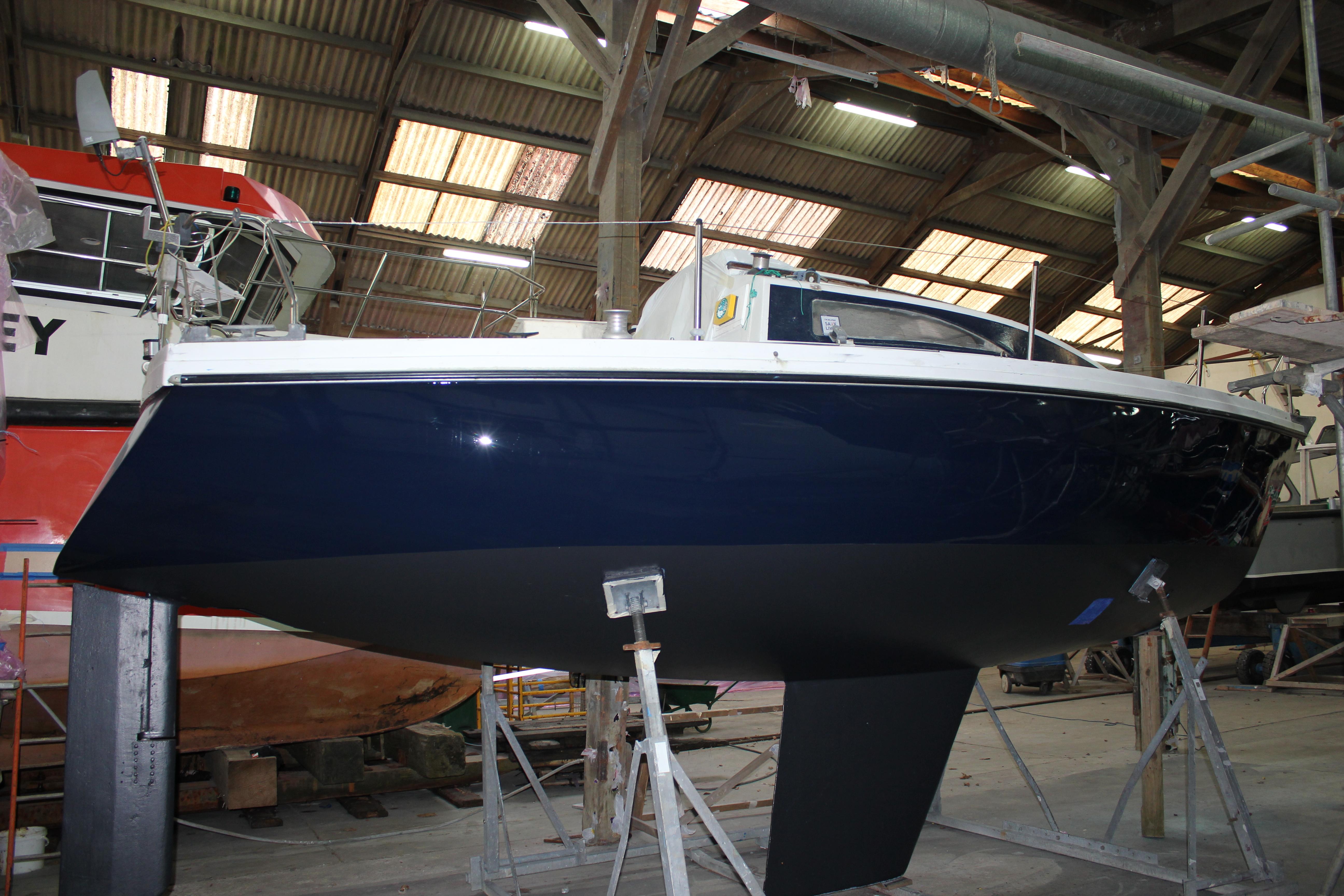 Boat repair in Cornwall