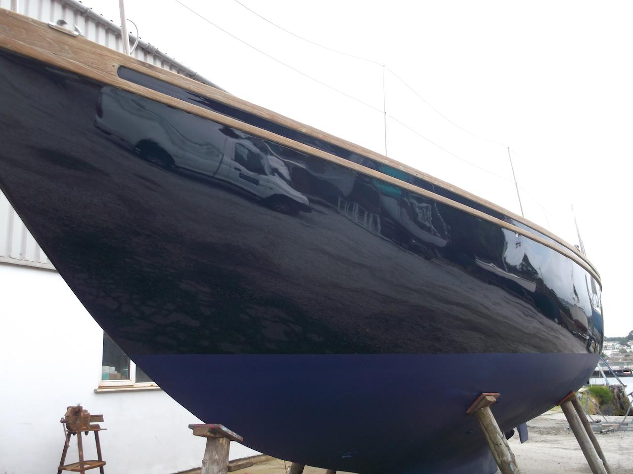 Repair boat in Cornwall