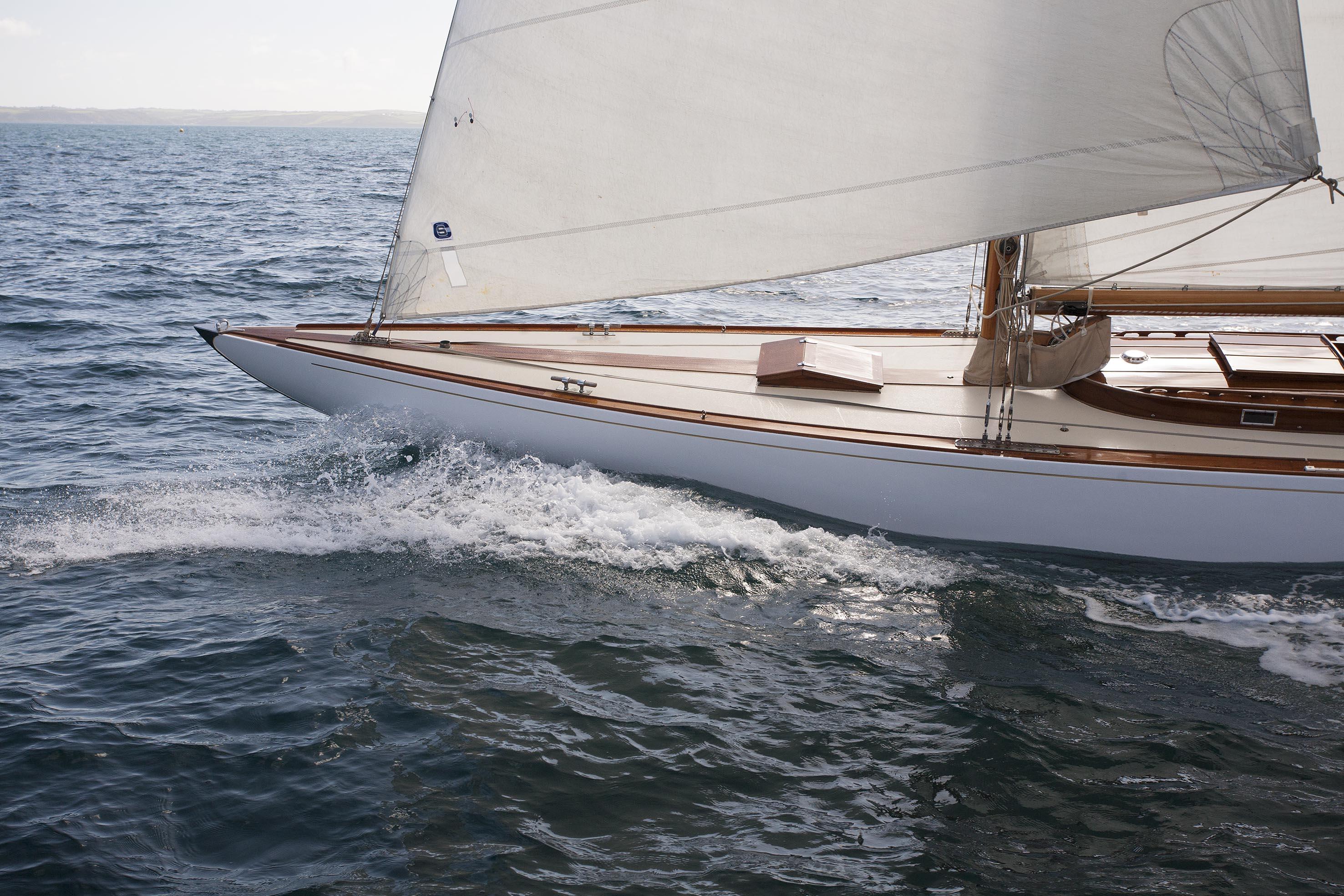 Boat finish