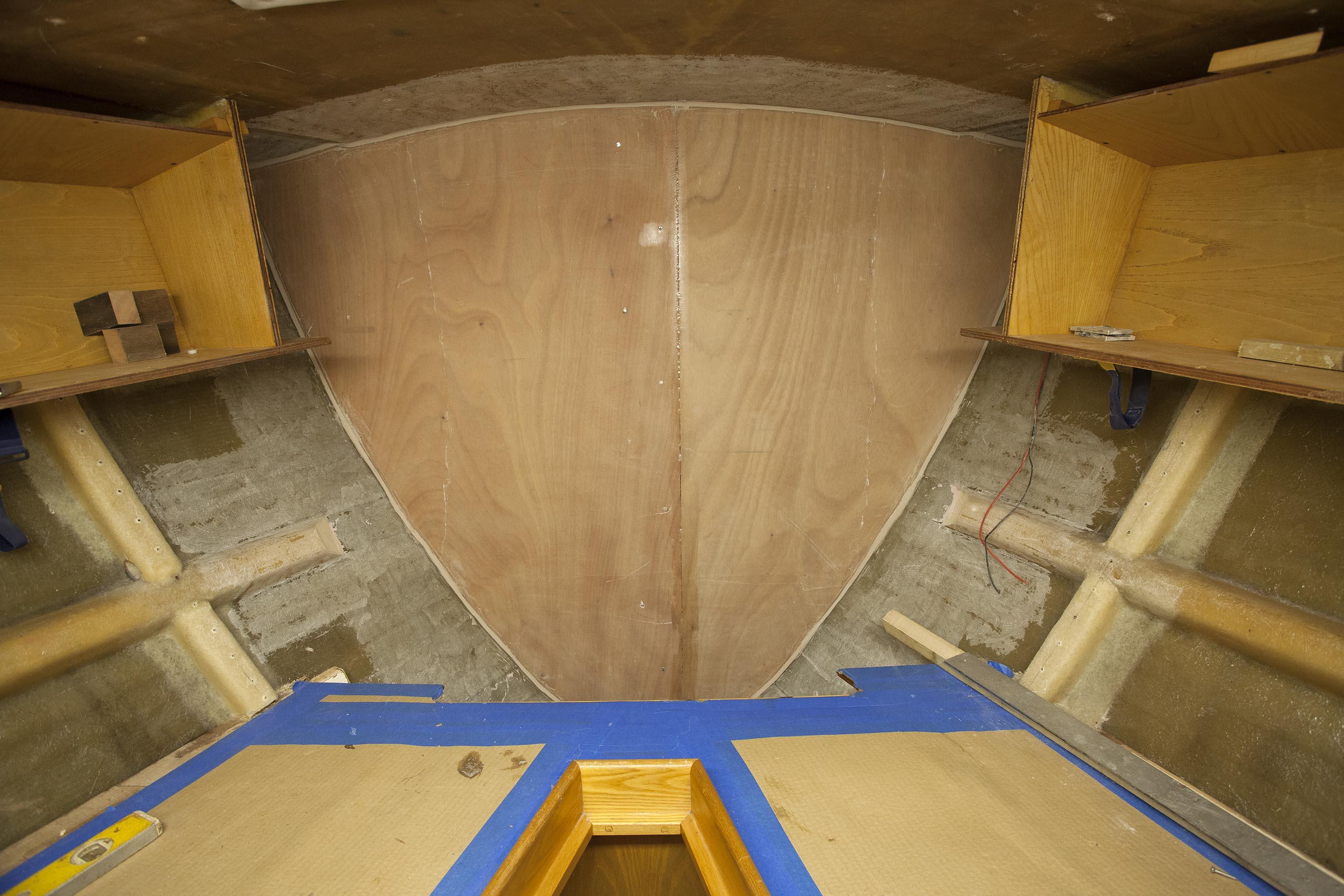 Collision bulkeads installed for Golden Globe Race