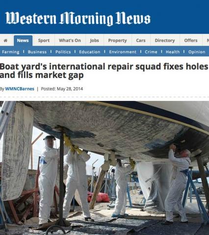 International boat repair