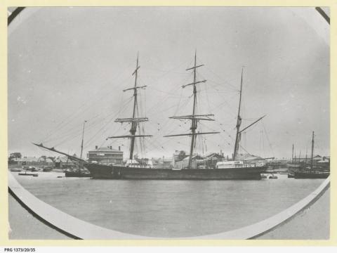 ship falmouth cornwall