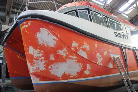 Commercial boat repair Cornwall
