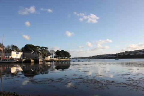 Moorings in Falmouth Cornwall