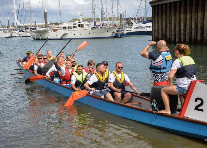 Falmouth Week's Dragon Boat Race