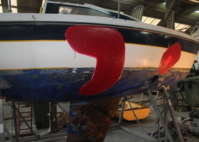 GRP boat repair Falmouth