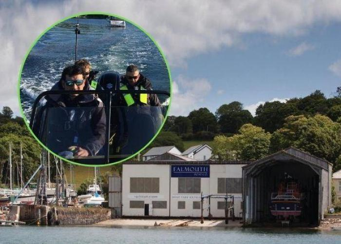 Help for broken down boats in Falmouth
