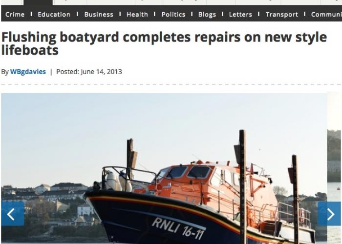 Commercial boat repair in South West