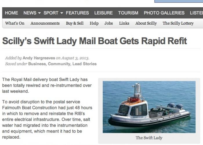 Boat repair in Isles of Scilly