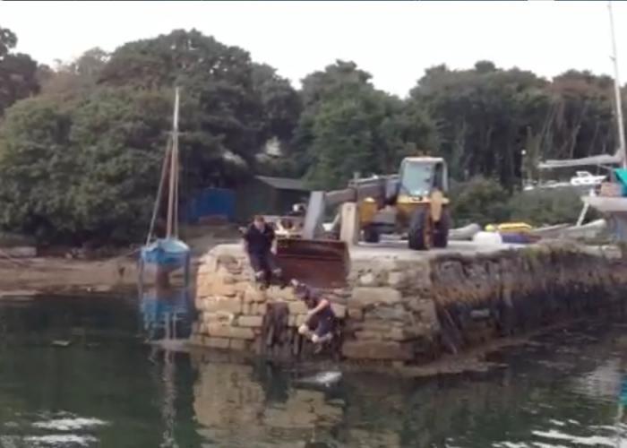 Boat yard Falmouth
