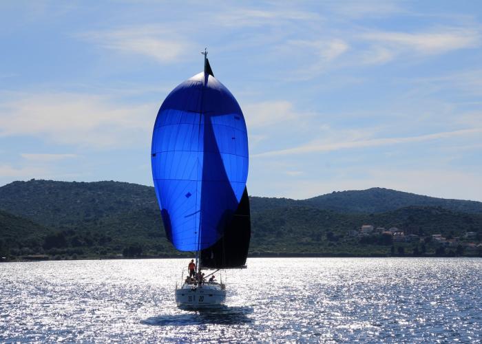 Preparing for sailing
