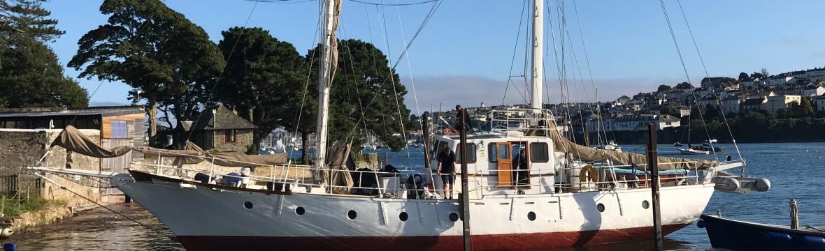 Ferrocement boat repair Falmouth