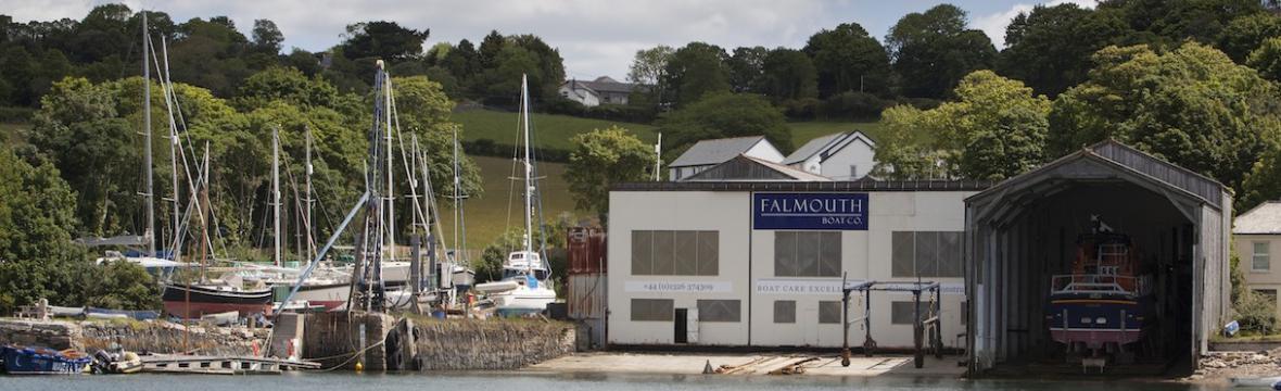 Falmouth boatyard
