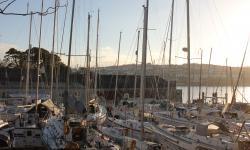Boat winter lay up Falmouth