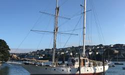 Ferrocement boat repair