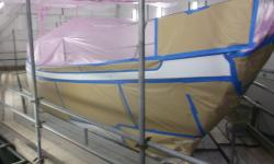 Refinishing boats Cornwall