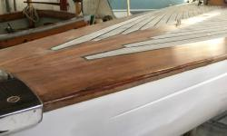 refit classic boat cornwall