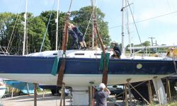 Removing the keel