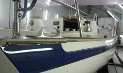 Painting boats Falmouth