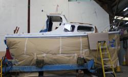 Boat damage repair Cornwall